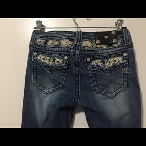 Miss Me Jeans Bootcut Size 16